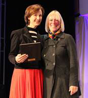 OHearne honored at 2012 ICF Conference